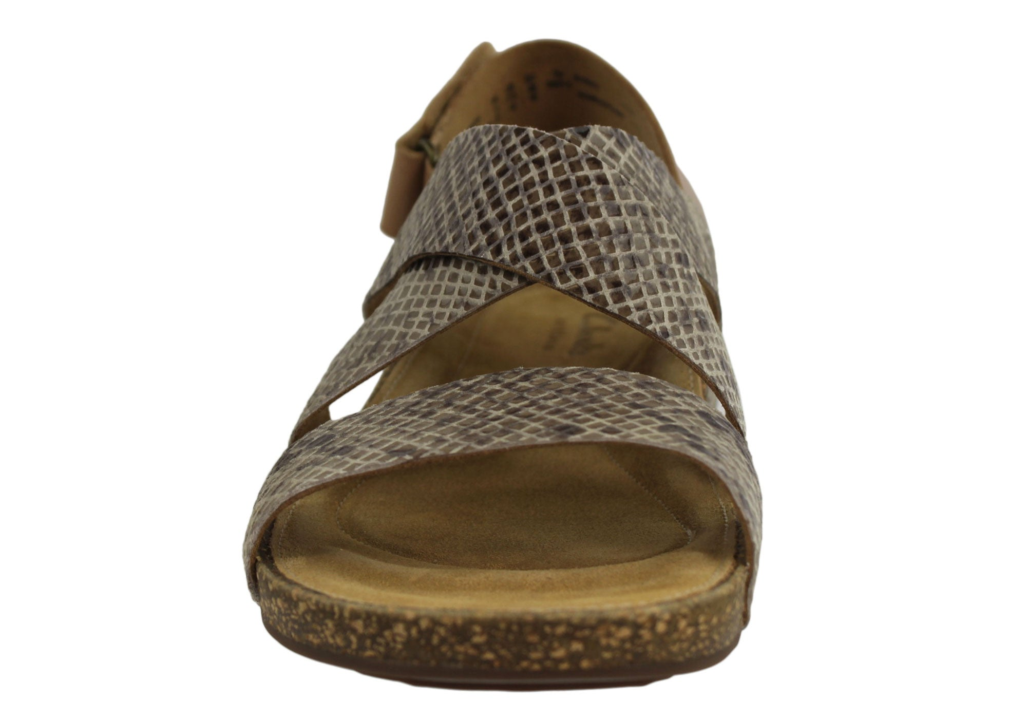 Clarks Perri Dunes Womens Leather Comfortable Sandals