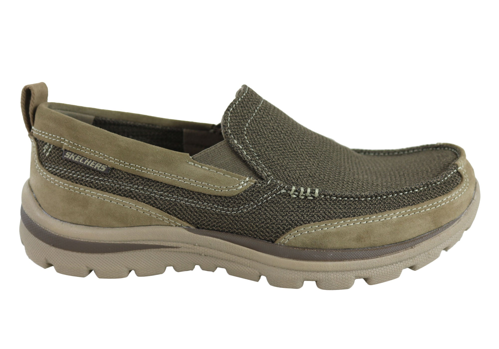 Skechers Superior Milford Uomo Comfortable Slip On Memory Foam Shoes Shoes Shoes 68659f