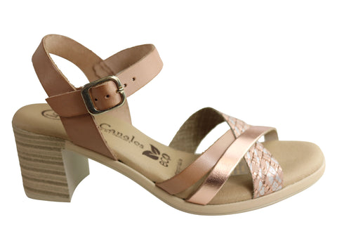 Lola Canales Brenda Womens Comfortable Leather Sandals Made In Spain