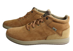 Caterpillar Crete Mens Comfortable Lace Up Casual Boots Shoes