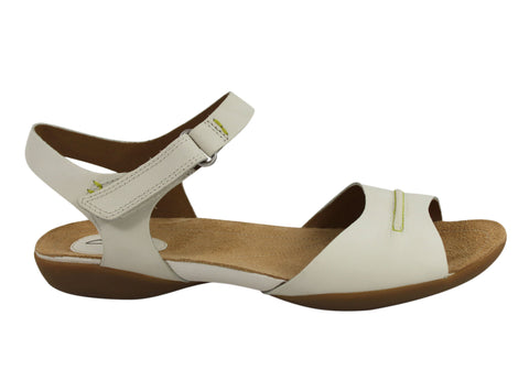 Clarks Raffi Party Womens Leather Comfortable Sandals