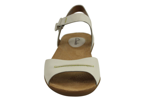 b85aa9aba0aa7 Clarks Raffi Party Womens Leather Comfortable Sandals ... most popular  581d7 . ...