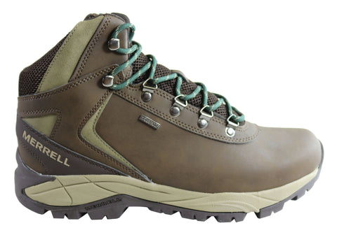 Merrell Mens Kivu Mid Waterproof Comfortable Hiking Boots