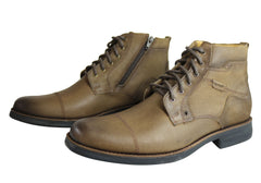 Ferricelli Bunbury Mens Comfortable Leather Boots Made In Brazil