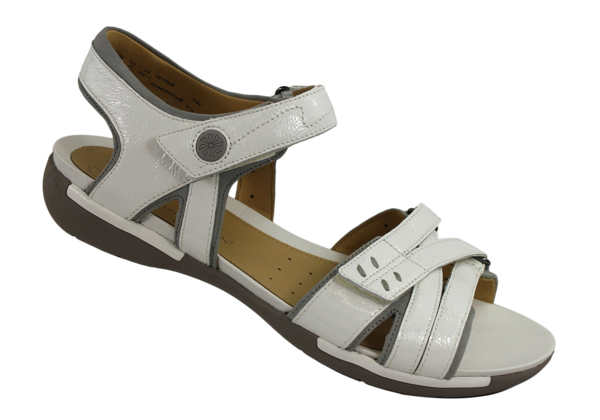 Clarks Un Vasha Womens Leather Comfortable Sandals