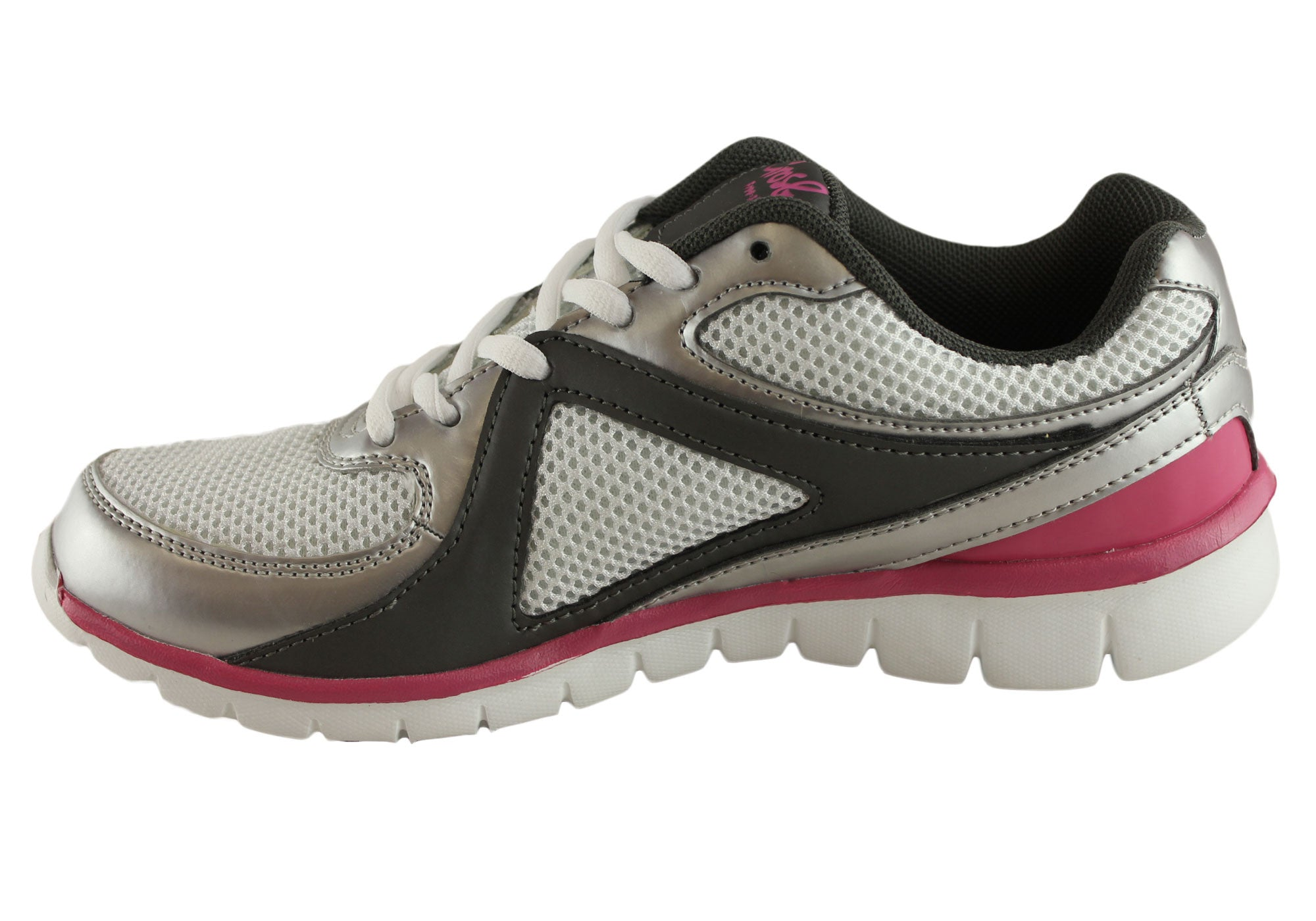 Grosby Womens Free Step Freeman Cushioned Sneakers