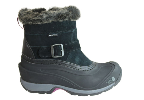 The North Face Womens Chilkat III Pull On Waterproof Flat Ankle Boots