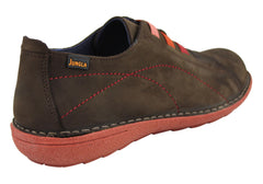 Jungla 5816 Womens Leather Casual Shoes Made In Spain