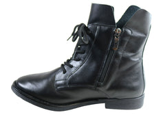Orcade Eleara Womens Comfortable Leather Ankle Boots Made In Brazil