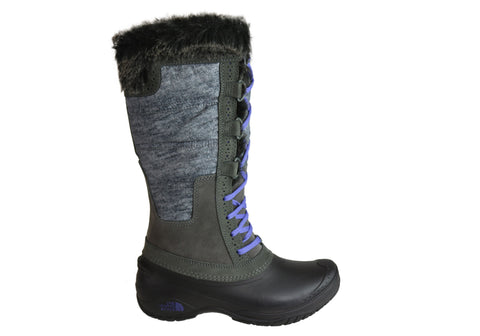 The North Face Womens Shellista II Tall Comfortable Waterproof Boots