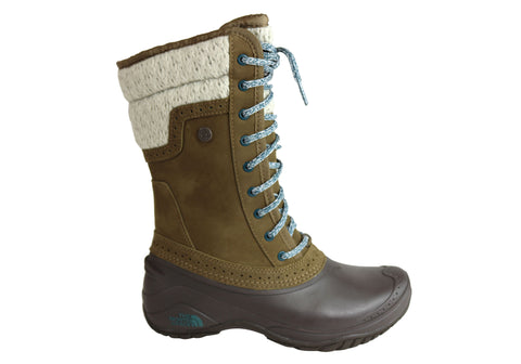 The North Face Womens Shellista II Mid Waterproof Flat Mid Calf Boots