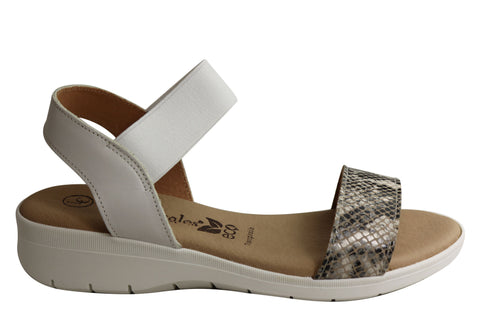 Lola Canales Meadow Womens Comfortable Leather Sandals Made In Spain