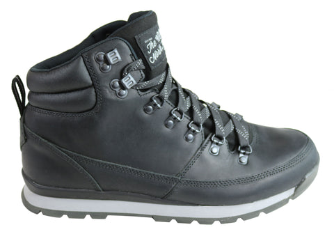 The North Face Mens Comfortable Back To Berkeley Redux Leather Boots