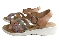 Lola Canales Daisy Womens Comfortable Leather Sandals Made In Spain