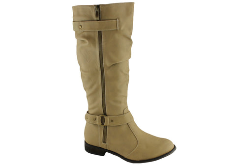 Isabella Brown Kami Womens Mid Calf Boots