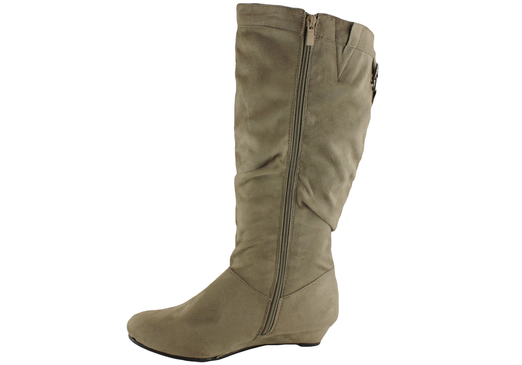 Isabella Brown Larsa Womens Mid Calf Boots