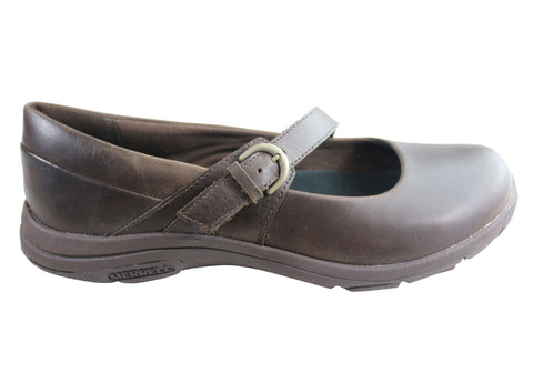 Merrell Dassie Erin MJ Leather Womens Comfortable Mary Jane Shoes