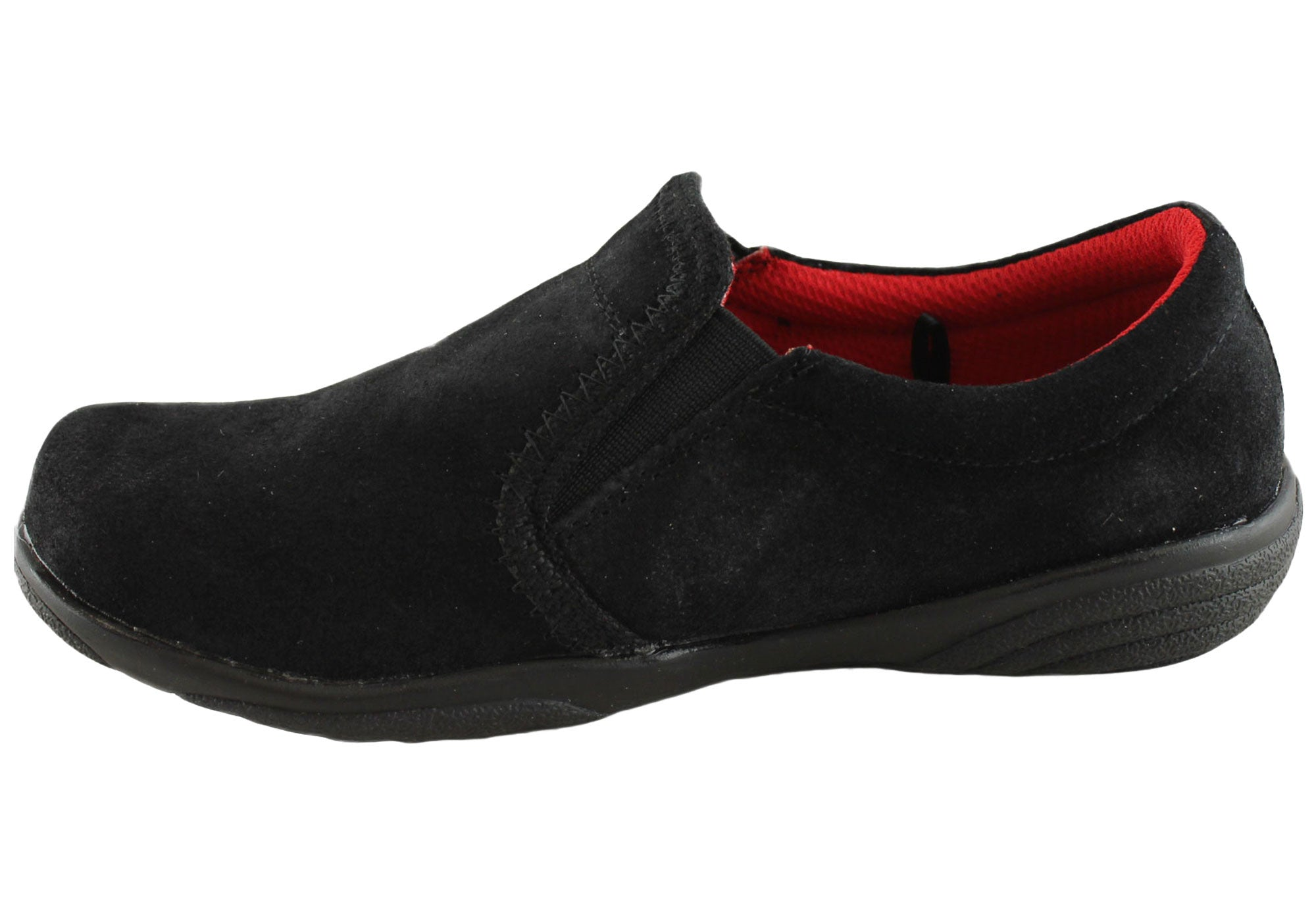 Grosby Leroy Kids Suede Slipon Casual Shoes