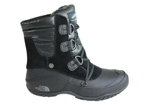 The North Face Womens Nuptse Purna Shorty Waterproof Ankle Boots