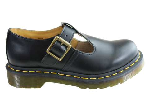 Dr Martens Womens Polley Mary Jane Comfortable Leather Shoes