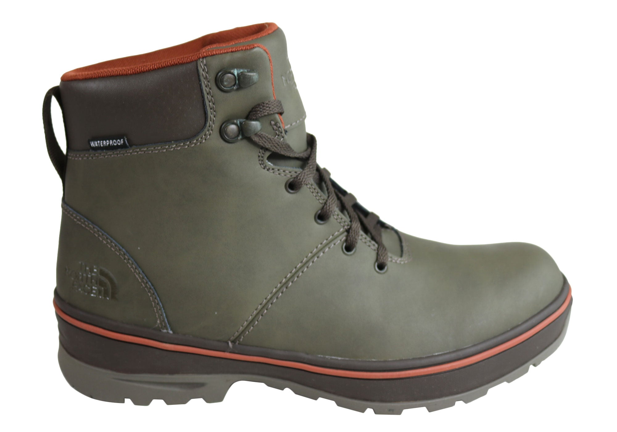 10fdcb09383 The North Face Mens Lace Up Comfort Ballard Commuter Waterproof ...
