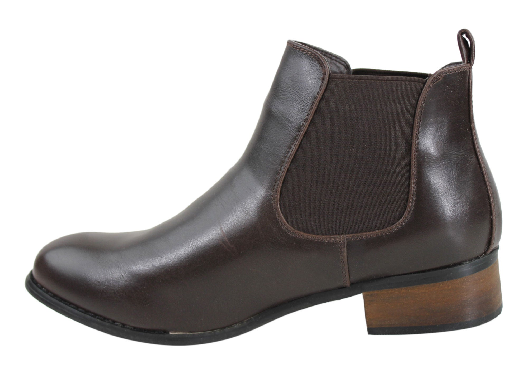 Lavish Vivian Womens Fashion Chelsea Boots
