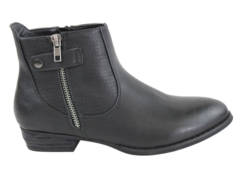 Lavish Sonia Womens Fashion Ankle Boots