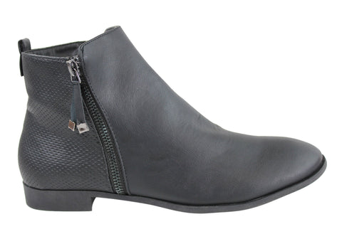 Lavish Frances Womens Fashion Ankle Boots