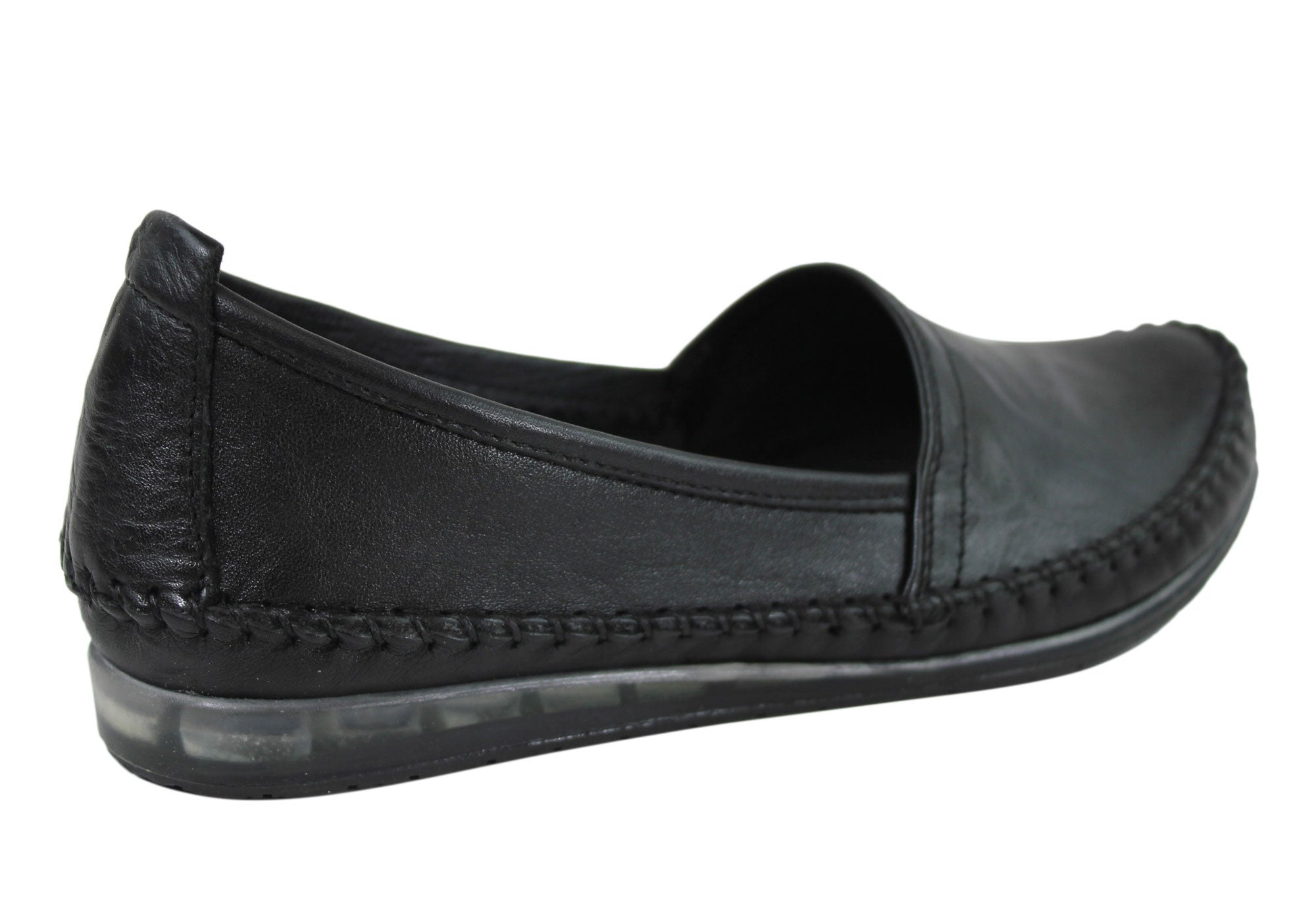 Cabello Comfort Womens Leather Loafers Made In Turkey