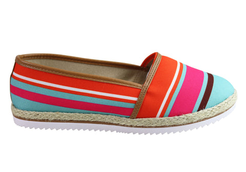 Beira Rio Conforto Orial Womens Comfortable Espadrille Fashion Shoes
