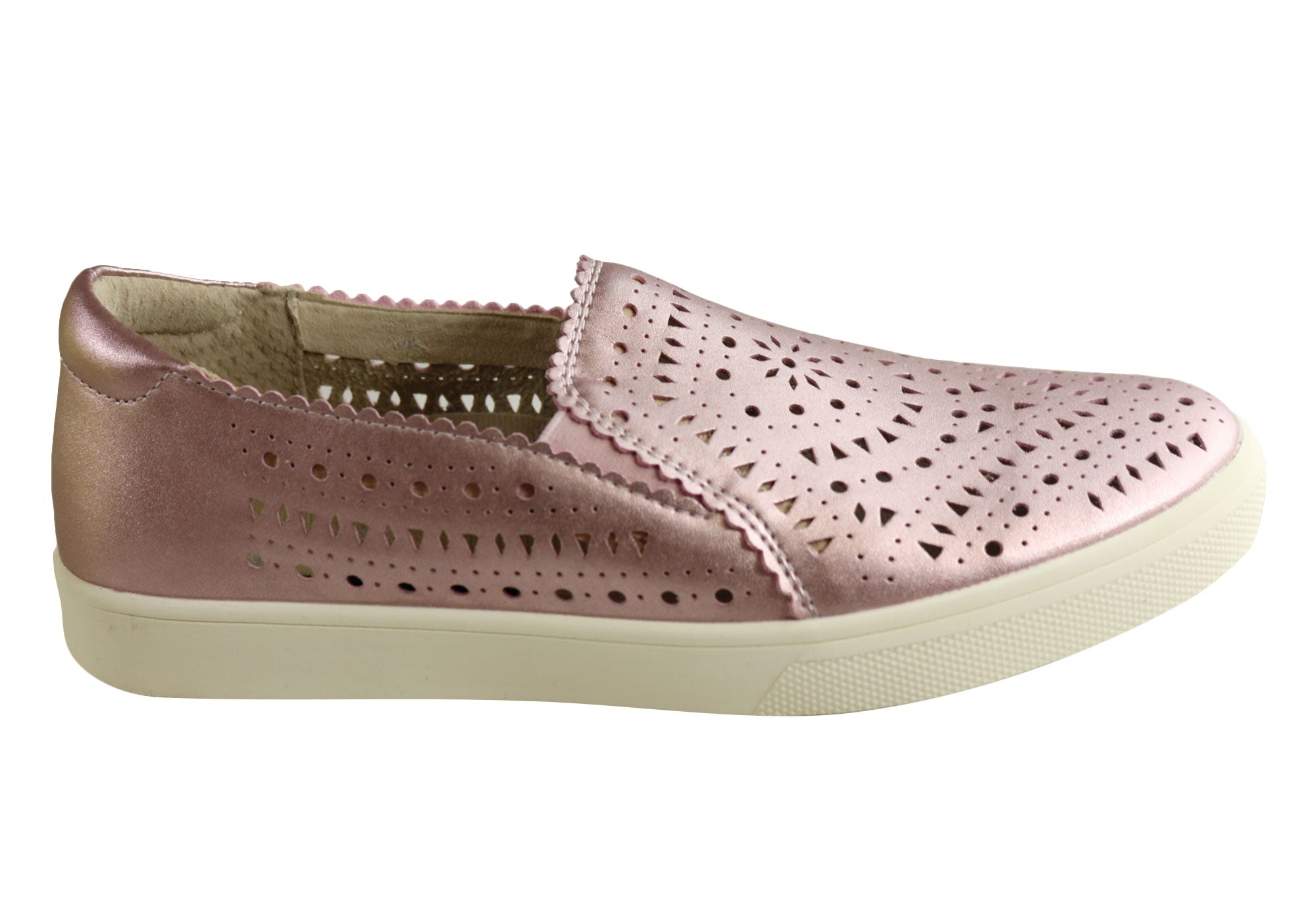 Scholl Orthaheel Yale Womens Comfort Supportive Leather Moccasin Shoes SSA