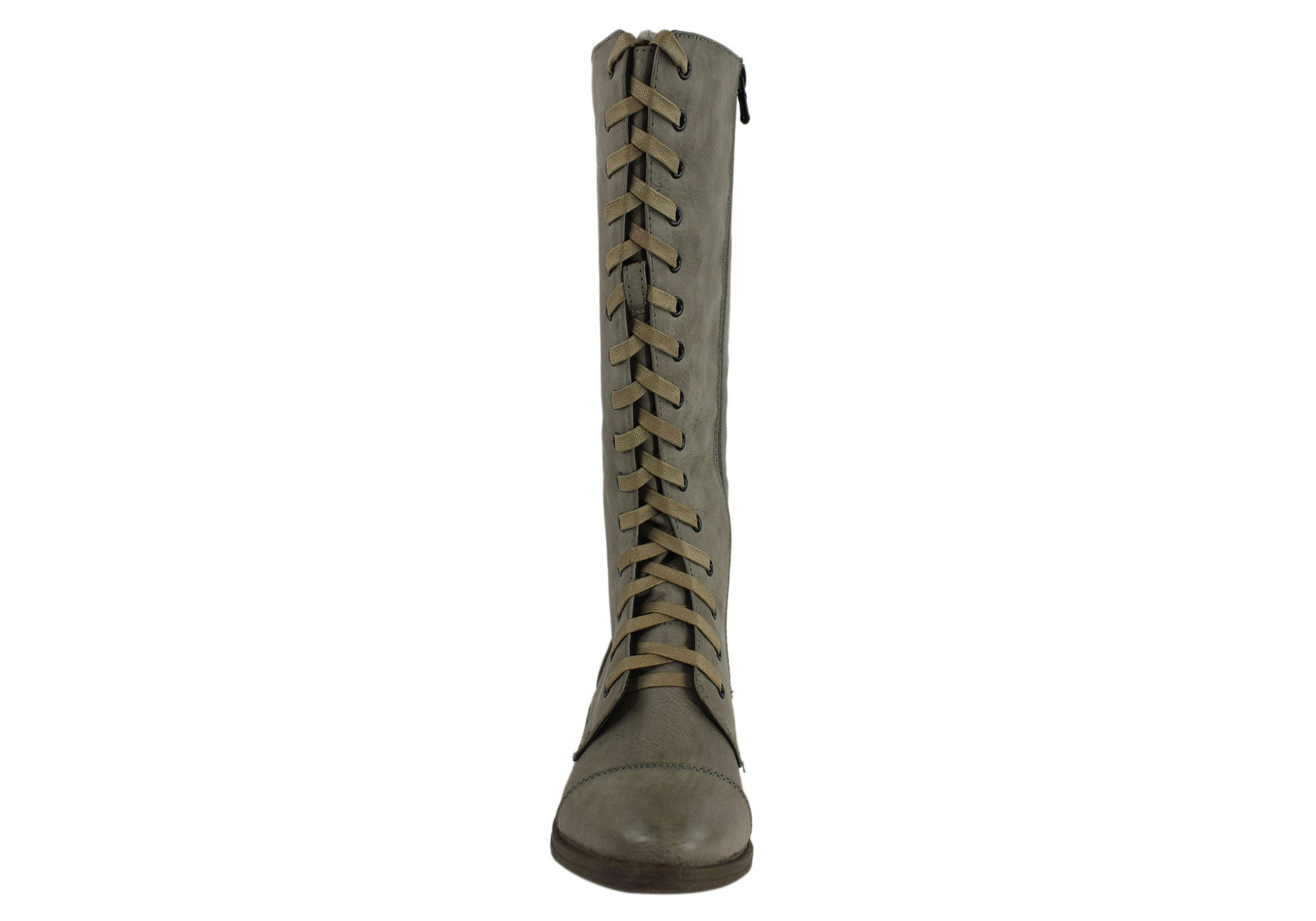 Lavish Monica Womens Military Inspired Fashion Boots