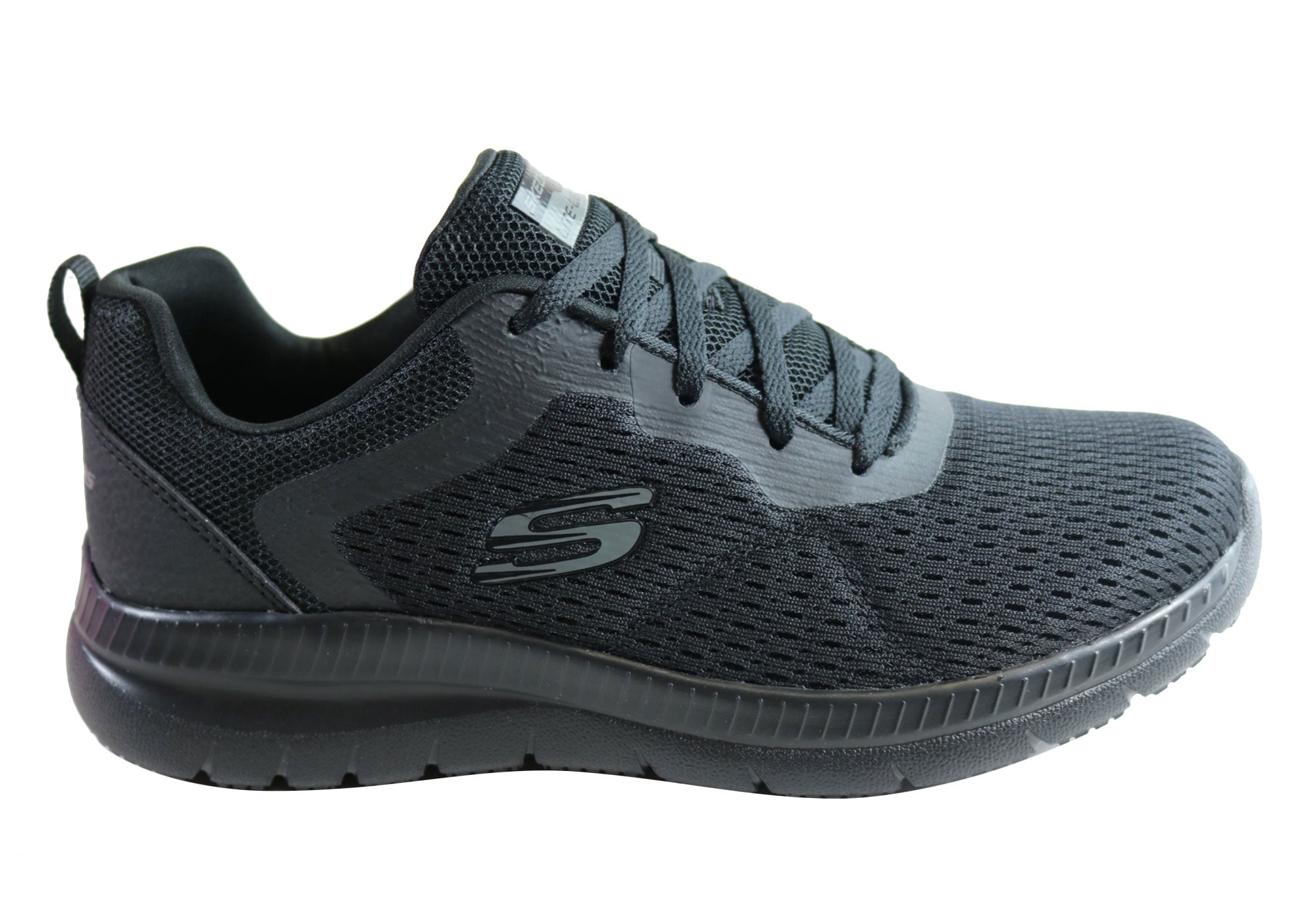 skechers memory foam trainers womens