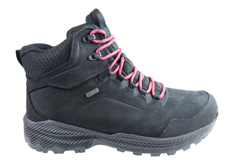 Merrell Womens Forestbound Mid Waterproof Comfortable Hiking Boots