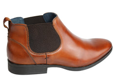 Savelli Winchester Mens Leather Chelsea Dress Boots Made In Brazil