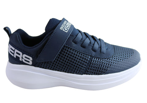 Skechers Boys Kids Go Run Fast Tharo Comfortable Athletic Shoes