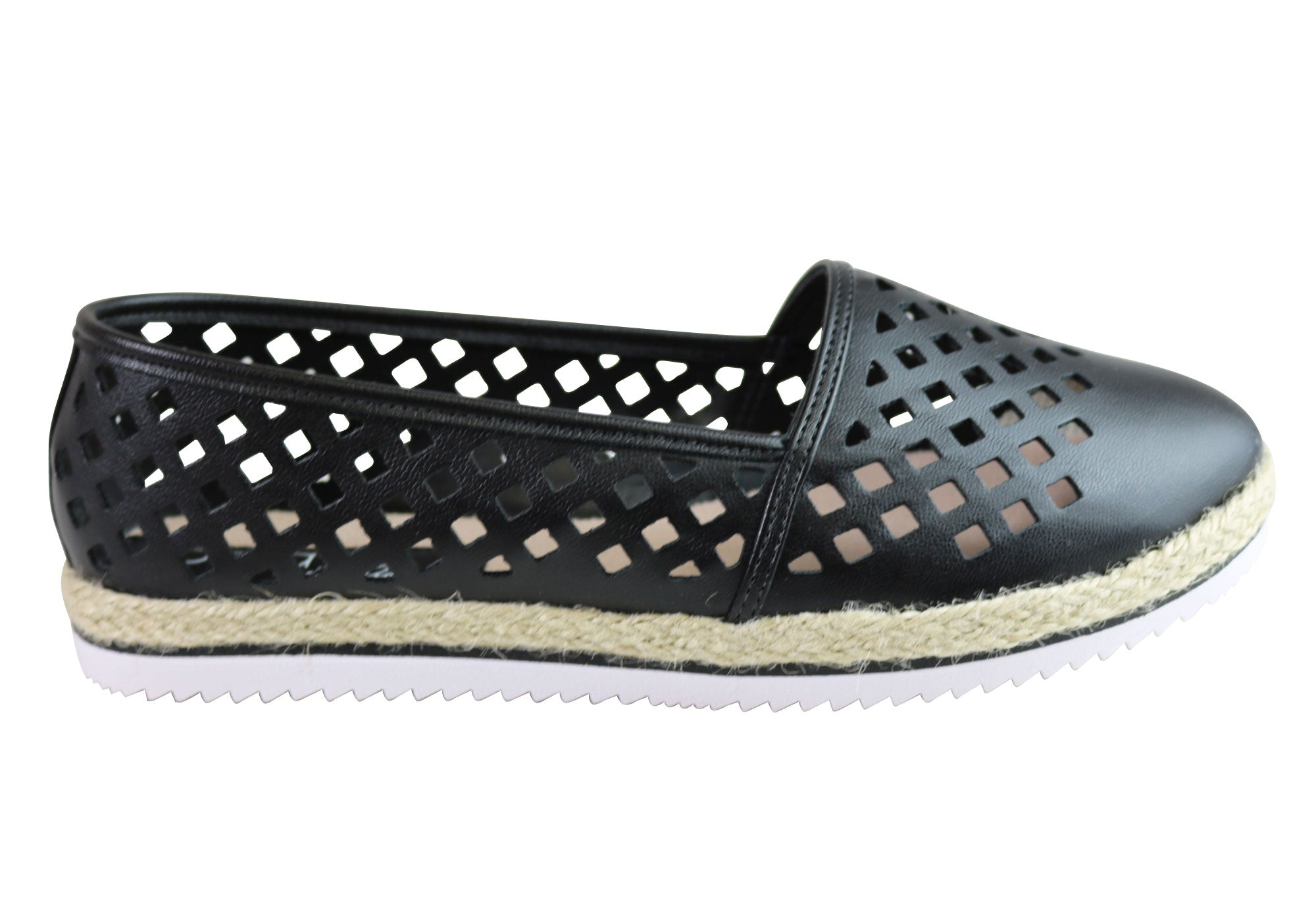 Beira Rio Fashion Conforto Kandice Donna Comfortable Espadrille Fashion Rio Shoes e4586e