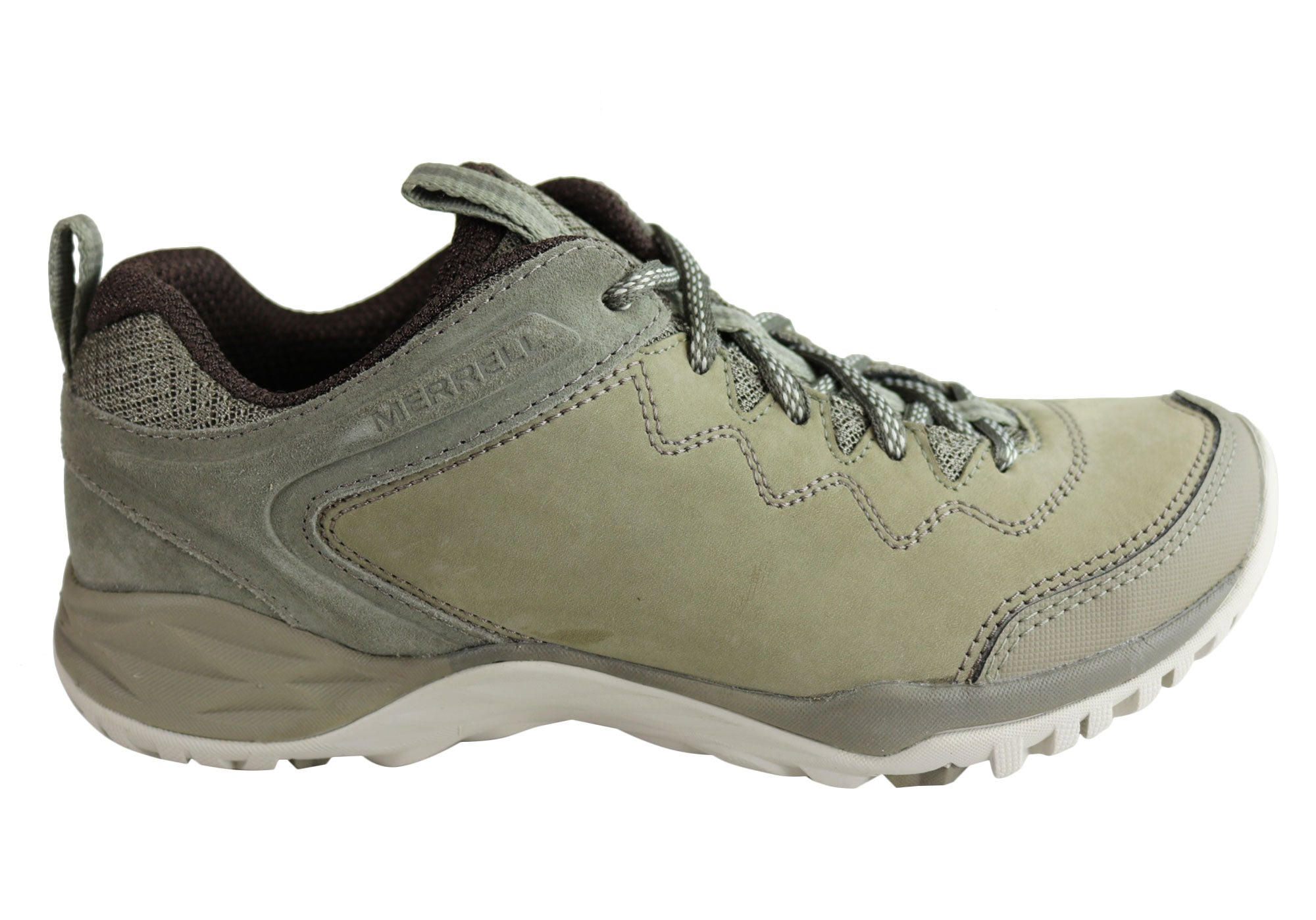 5c346629b25cb Home Merrell Siren Traveller Q2 Womens Comfortable Hiking Shoes. Brindle/  ...