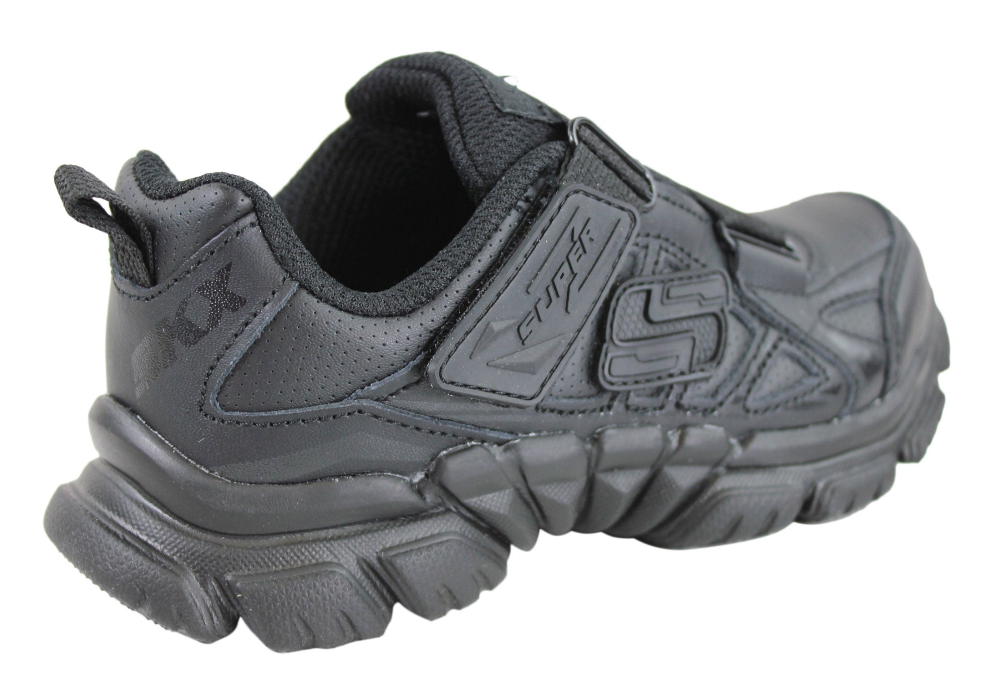 Skechers Tough Trax Doyen Boys Velcro Shoes