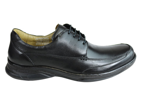 Savelli Angus Mens Comfort Leather Lace Up Shoes Made In Brazil