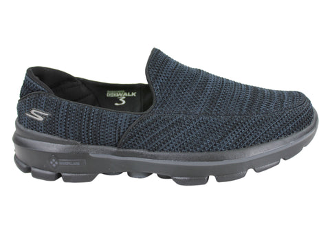 Skechers Go Walk 3 Fitknit Mens Slip On Shoes