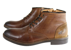Wild Rhino Tasman Mens Comfort Leather Dress Boots Made In Portugal