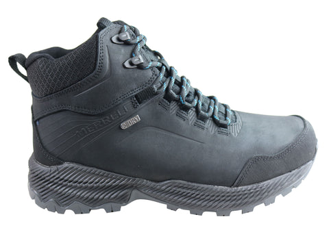 Merrell Mens Forestbound Mid Waterproof Comfortable Hiking Boots