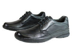 Savelli Leader Mens Comfort Leather Lace Up Shoes Made In Brazil