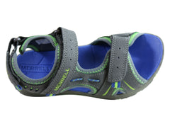 Merrell Kids Comfortable Panther Sandals With Adjustable Straps