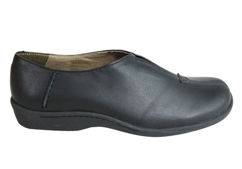 Flex & Go Alexa Womens Comfort Flat Leather Shoes Made In Portugal