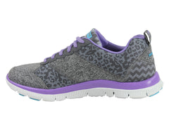 Skechers Flex Appeal Tribeca Womens Memory Foam Shoes
