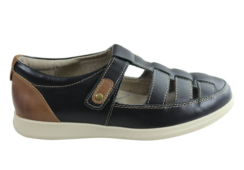 Homyped Cairo Womens Comfortable Supportive Leather Casual Shoes