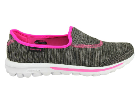 Skechers Go Walk Fathom Womens Slip On Sneakers