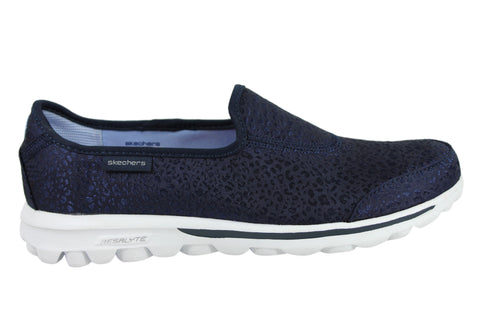 Skechers Go Walk Untamed Womens Memory Foam Comfort Casual Shoes